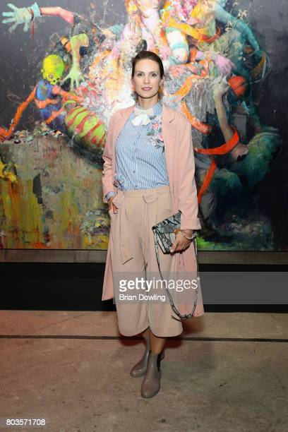 Katrin Wrobel attends Bacardi X The Dean Collection Present No Commission Berlin on June 29 2017 in Berlin Germany