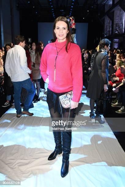 Katrin Wrobel attends the Ewa Herzog show during the MBFW Berlin January 2018 at ewerk on January 16 2018 in Berlin Germany