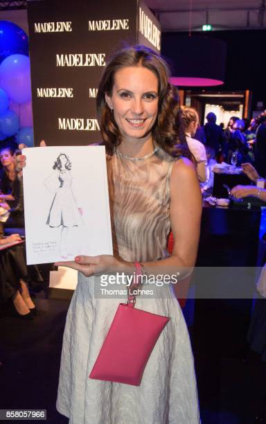 Katrin Wrobel attends the Tribute To Bambi at Station on October 5 2017 in Berlin Germany