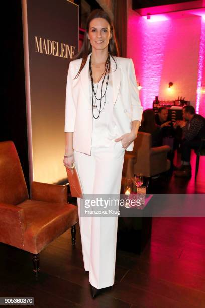 Katrin Wrobel during the Bunte New Faces Night at Grace Hotel Zoo on January 15 2018 in Berlin Germany