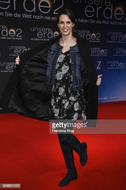 Katrin Wrobel during the 'Unsere Erde 2' premiere at Zoo Palast on March 7 2018 in Berlin Germany