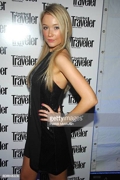 Katrina Bowden attends CONDE NAST TRAVELER Readers' Choice Awards & 20TH Anniversary Party at Cooper-Hewitt National Design Museum on October 10,...