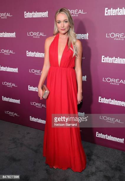 Katrina Bowden attends the 2017 Entertainment Weekly PreEmmy Party at Sunset Tower on September 15 2017 in West Hollywood California