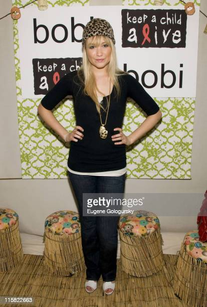Katrina Bowden attends The bobi Clothing and Keep a Child Alive's Party for a Purpose on June 3 2008 in New York City