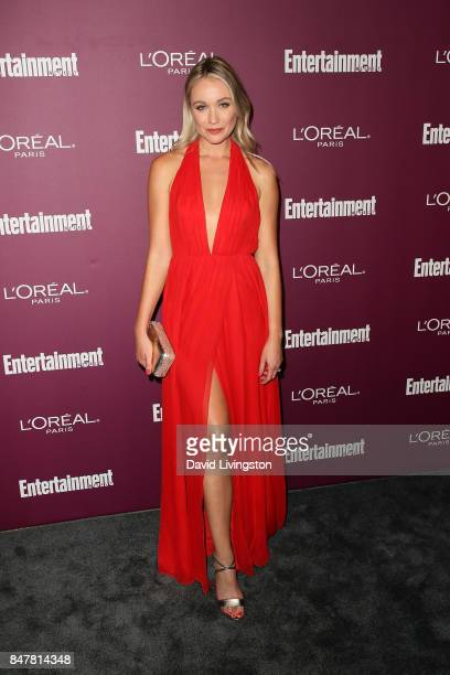 Katrina Bowden attends the Entertainment Weekly's 2017 PreEmmy Party at the Sunset Tower Hotel on September 15 2017 in West Hollywood California