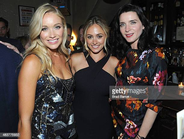 Katrina Bowden Elizabeth Masucci and Katrina Bowden attend The NYMag Vulture TNT Celebrate the Premiere of Public Morals on August 12 2015 in New...