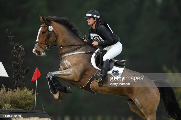 Katrina Butler Gallie rides Tarndale Endeavor in the CCI 3* Young Rider during the National Three Day Event Championships on May 11 2019 in Taupo New...