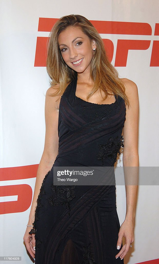 Katrina Campins during ESPN's 25th Anniversary Celebration - Arrivals at ESPN Zone - Times Square in New York City, New York, United States.