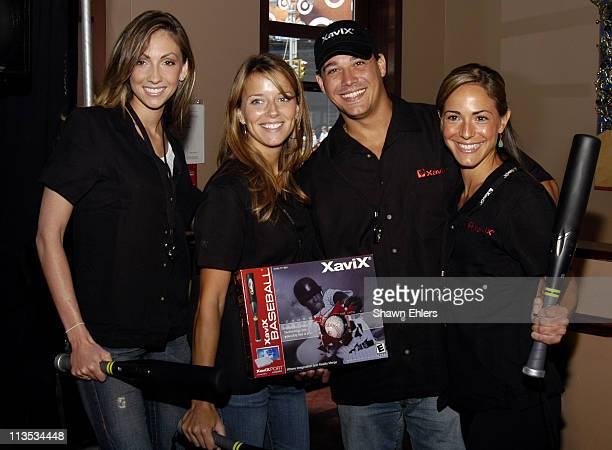 Katrina Campins of The Apprentice Amber Brkich of Survivor Rob Mariano of Survivor and Ereka Vetrini of The Apprentice