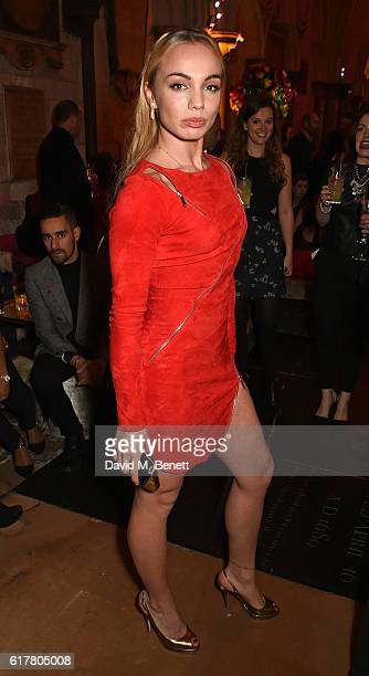 Katrina Dureden attend Marvel Studios and British GQ hosted reception in The Cloisters at Westminster Abbey, to celebrate the release of Doctor...