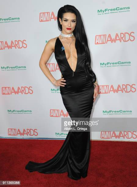 Katrina Jade attends the 2018 Adult Video News Awards held at Hard Rock Hotel Casino on January 27 2018 in Las Vegas Nevada