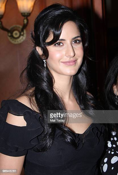 Katrina Kaif at a promotional event for the film Rajneeti in Mumbai on May 8 2010