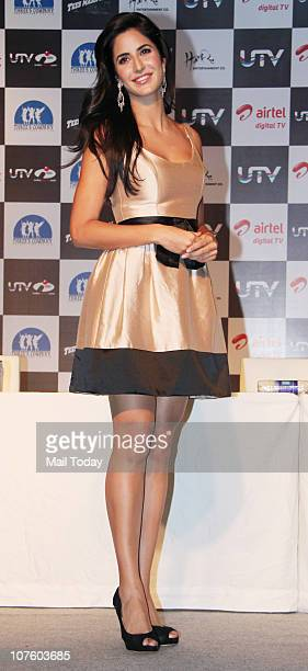 Katrina Kaif at a promotional event for the film Tees Maar Khan in Mumbai on December 13 2010