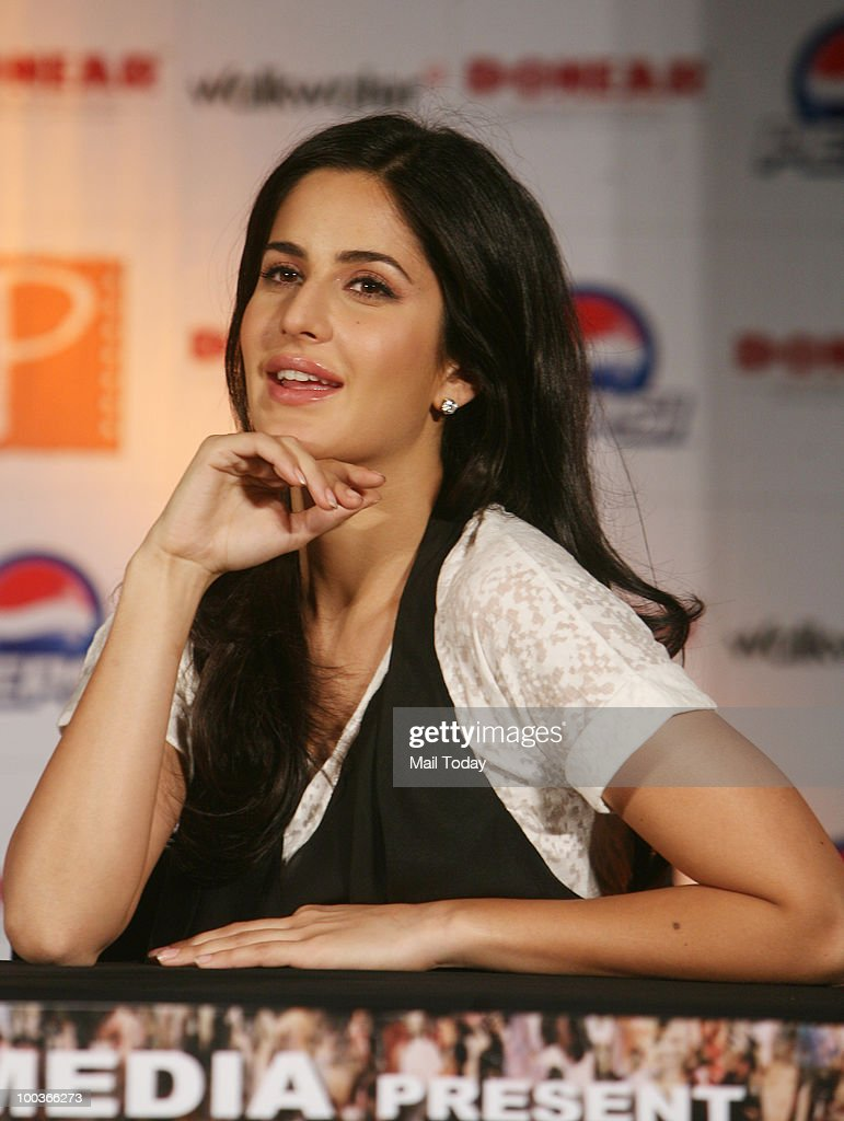 Katrina Kaif at a promotional evnt for the film Rajneeti in New Delhi on May 20, 2010.