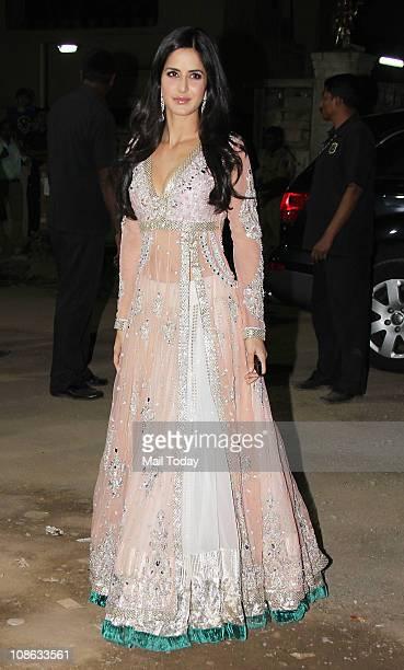 Katrina Kaif at the 56th Idea Filmfare Awards at Yashraj Studios in Mumbai