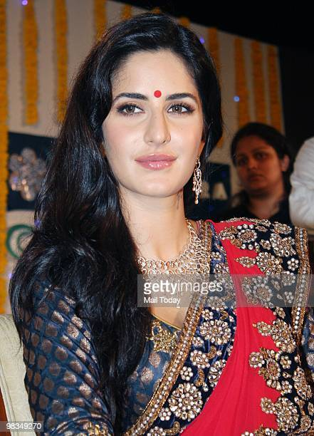 Katrina Kaif at the launch of a jewellery collection in Mumbai on April 8 2010
