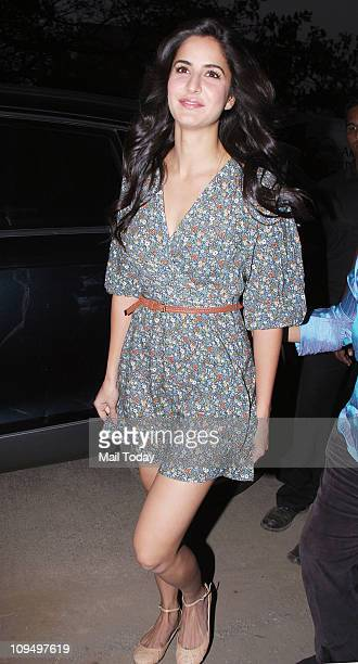 Katrina Kaif at the launch of Suzanne Roshan's 'The Charcoal' project at Andheri Mumbai on February 272011