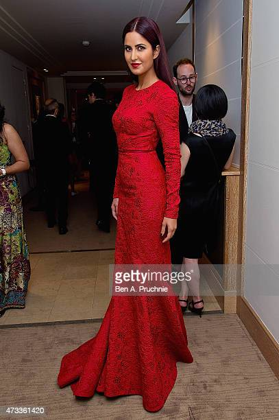 Katrina Kaif attends a party hosted by L'Oreal Paris, UniFrance and Stylist during the 68th annual Cannes Film Festival on May 14, 2015 in Cannes,...