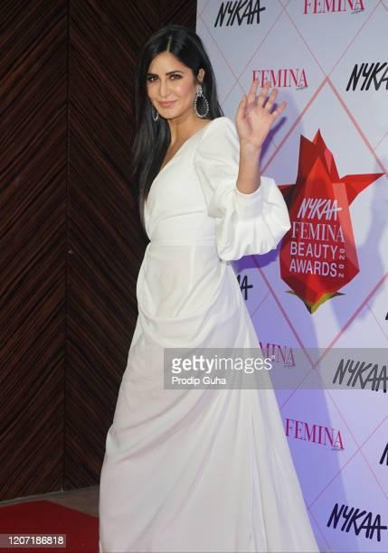 Katrina Kaif attends the Femina Beauty awards 2020 on February 18, 2020 in Mumbai, India.