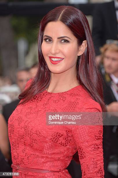 Katrina Kaif attends the Mad Max Fury Road Premiere during the 68th annual Cannes Film Festival on May 14 2015 in Cannes France