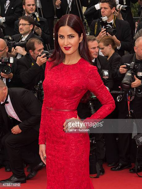 """Katrina Kaif attends the """"Mad Max : Fury Road"""" Premiere during the 68th annual Cannes Film Festival on May 14, 2015 in Cannes, France."""