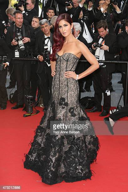 Katrina Kaif attends the opening ceremony and La Tete Haute premiere during the 68th annual Cannes Film Festival on May 13 2015 in Cannes France