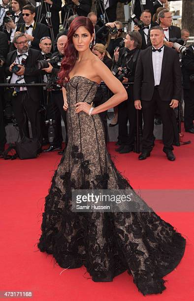 Katrina Kaif attends the opening ceremony and premiere of La Tete Haute during the 68th annual Cannes Film Festival on May 13 2015 in Cannes France