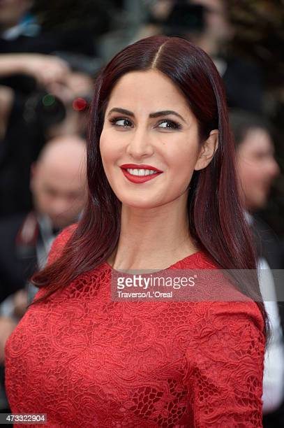 Katrina Kaif attends the premiere of Mad Max Fury Road during the 68th annual Cannes Film Festival on May 14 2015 in Cannes France