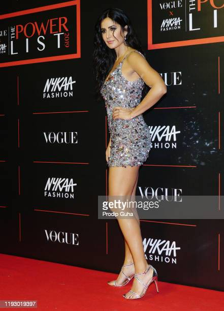 """Katrina Kaif attends the """"The Powerlist"""" by Nykaa Fashion and Vogue India on December 09,2019 in Mumbai, India"""
