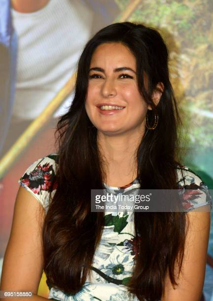 Katrina Kaif during the second song launch of film Jagga Jasoos 'Galti Se Mistake' in Mumbai