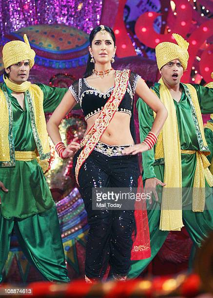 Katrina Kaif performing during the Stardust Awards function in Mumbai on Sunday evening