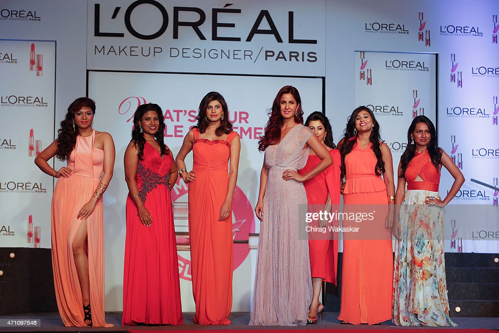 L'Oreal Paris 'Matte or Gloss' Cannes Collection Launch : ニュース写真