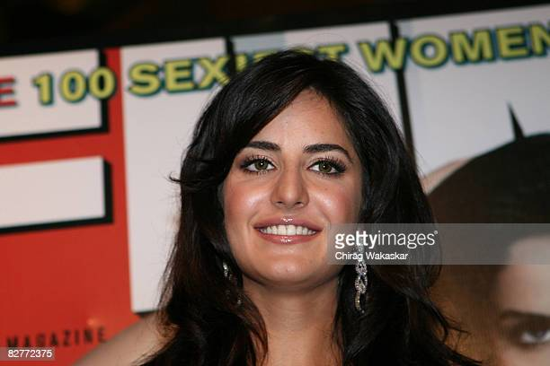 Katrina Kaif winner of FHM India Magazine's 100 Sexiest Women In The World at Sahara Star Hotel on June 10 2008 in Mumbai India