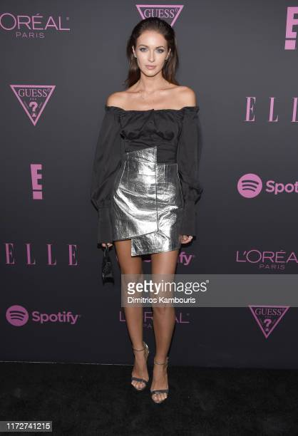 Katrina Kruglova attends ELLE Women in Music presented by Spotify and hosted by Nina Garcia Jameela Jamil E Entertainment on September 05 2019 in New...