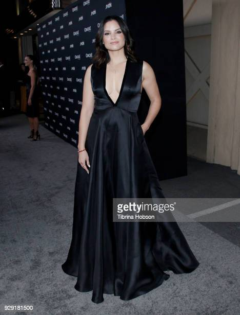 Katrina Law attends the premiere of Crackle's 'The Oath' at Sony Pictures Studios on March 7 2018 in Culver City California