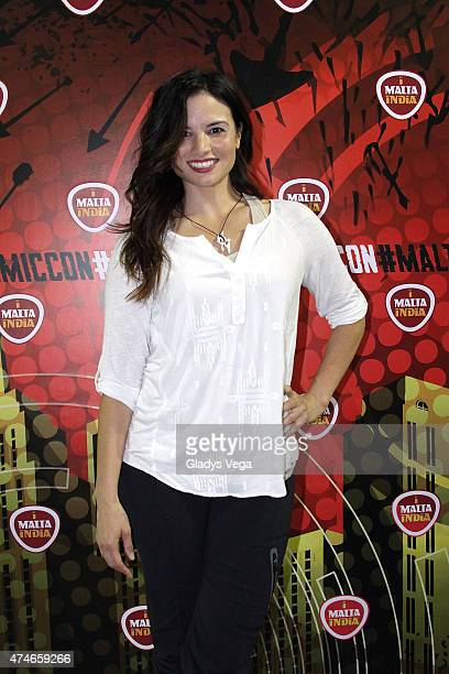 Katrina Law of TV series Arrow attends Puerto Rico Comic Con at the Puerto Rico Convention Center on May 24 2015 in San Juan Puerto Rico