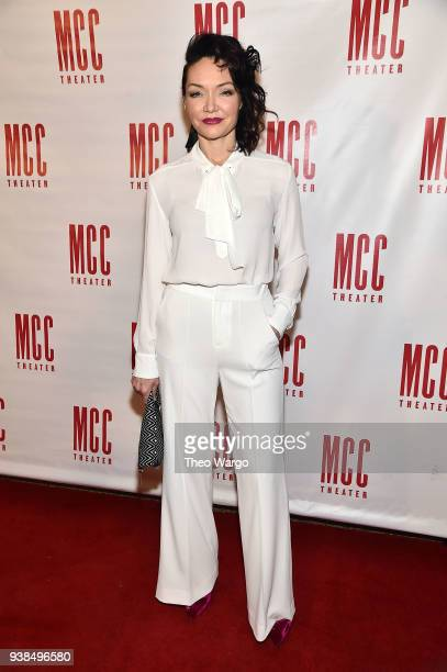 Katrina Lenk attends Miscast 2018 Honors Laurie Metcalf at Hammerstein Ballroom on March 26 2018 in New York City