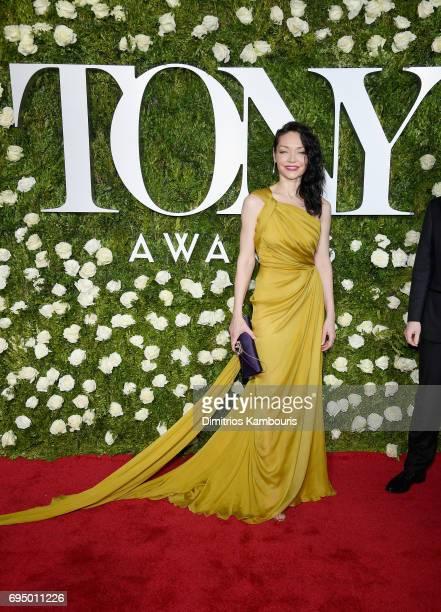 Katrina Lenk attends the 2017 Tony Awards at Radio City Music Hall on June 11 2017 in New York City