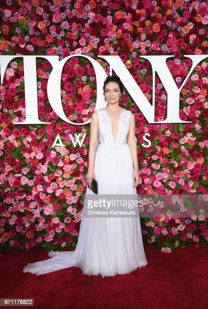Katrina Lenk attends the 72nd Annual Tony Awards at Radio City Music Hall on June 10 2018 in New York City