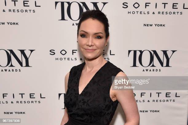 Katrina Lenk attends the Tony Honors Cocktail Party Presenting The 2018 Tony Honors For Excellence In The Theatre And Honoring The 2018 Special Award...