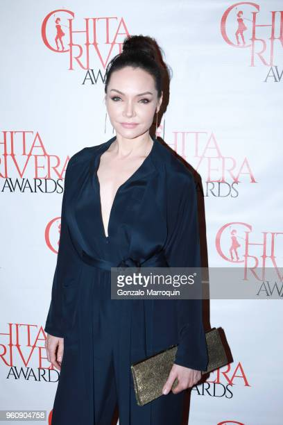Katrina Lenk during the The 2nd Annual Chita Rivera Awards Honoring Carmen De Lavallade John Kander And Harold Prince at NYU Skirball Center on May...