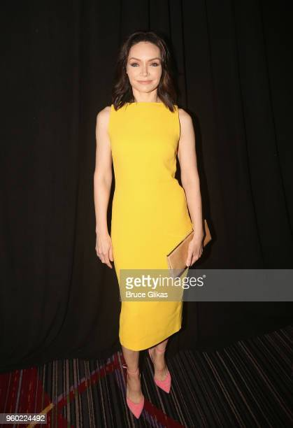 Katrina Lenk poses at The 2018 Drama League Awards at The Marriott Marquis Times Square on May 18 2018 in New York City