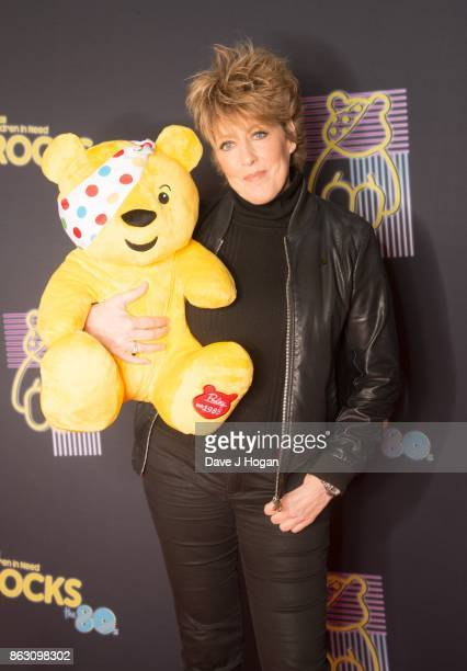 Katrina Leskanich is pictured at BBC Children in Need Rocks the 80s at SSE Arena on October 19, 2017 in London, England.