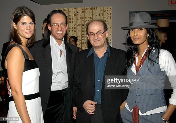 Katrina Pavlos Andrew Saffir Salman Rushdie and Padma Lakshmi