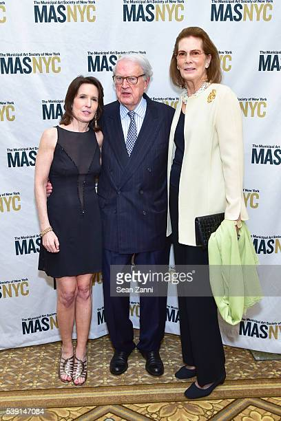 Katrina vanden Heuvel William vanden Heuvel and Mrs Franklin D Roosevelt Jr attend The Municipal Art Society of New York 2016 Jacqueline Kennedy...