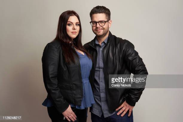 Katrina Weidman and Jack Osbourn of Travel Channel's 'Portals to Hell' pose for a portrait during the 2019 Winter TCA at The Langham Huntington...