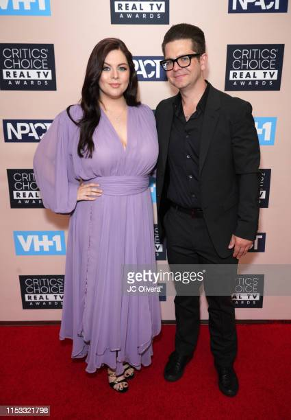 Katrina Weidman and Jack Osbourne attend the Critics' Choice Real TV Awards on June 02 2019 in Beverly Hills California