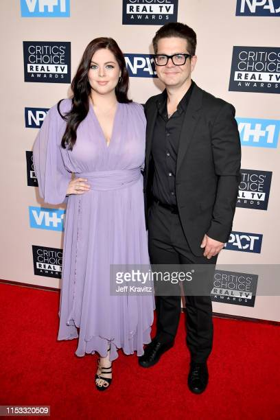 Katrina Weidman and Jack Osbourne attends the Critics' Choice Real TV Awards at The Beverly Hilton Hotel on June 02 2019 in Beverly Hills California