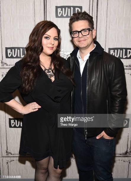 Katrina Weidman and Jack Osbourne visit Build at Build Studio on April 22 2019 in New York City