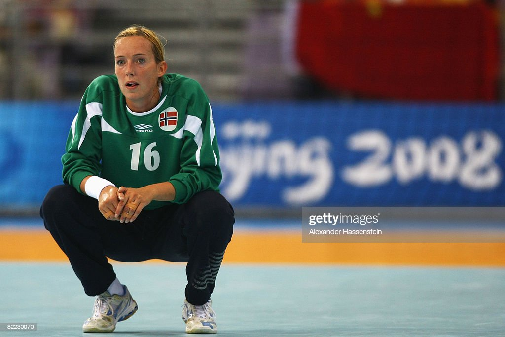 Katrine Lunde Haraldsen Of Norway Looks On During The Handball Match News Photo Getty Images